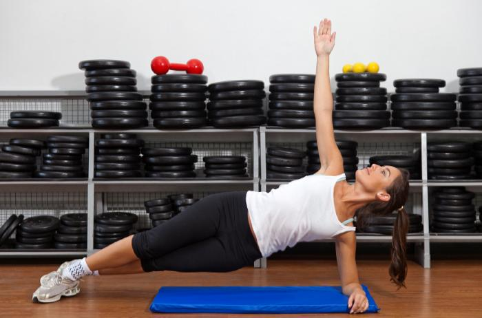 The Side Plank Idle To Improve Spine Curvature For