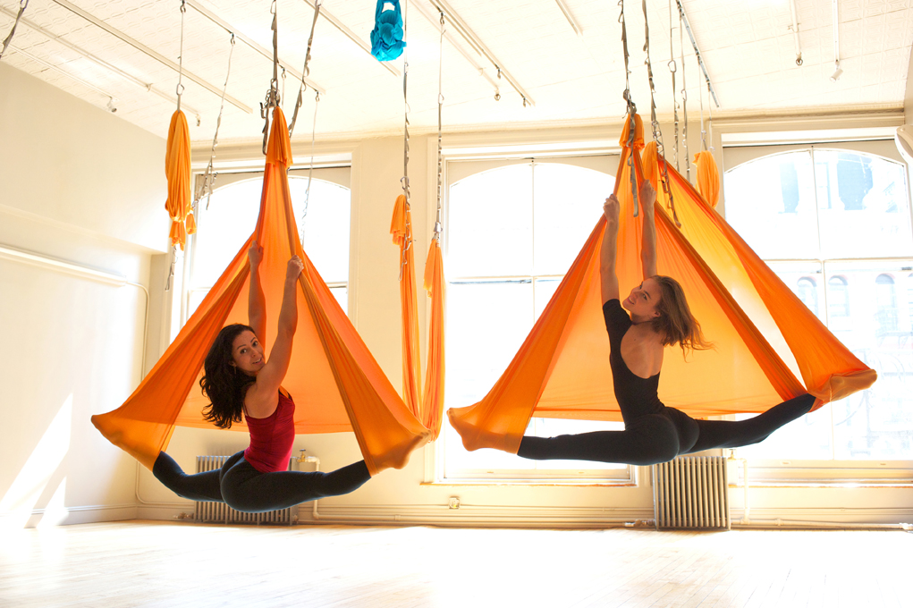 Aerial Yoga An Experiment With Yoga Women Fitness