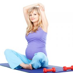 A Complete Body Workout For Pregnant Women-II
