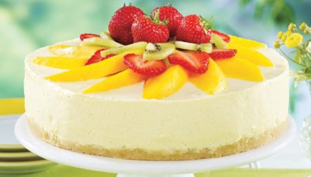Creamy Mango Cheesecake