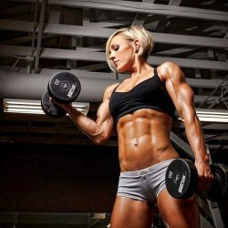 female body building