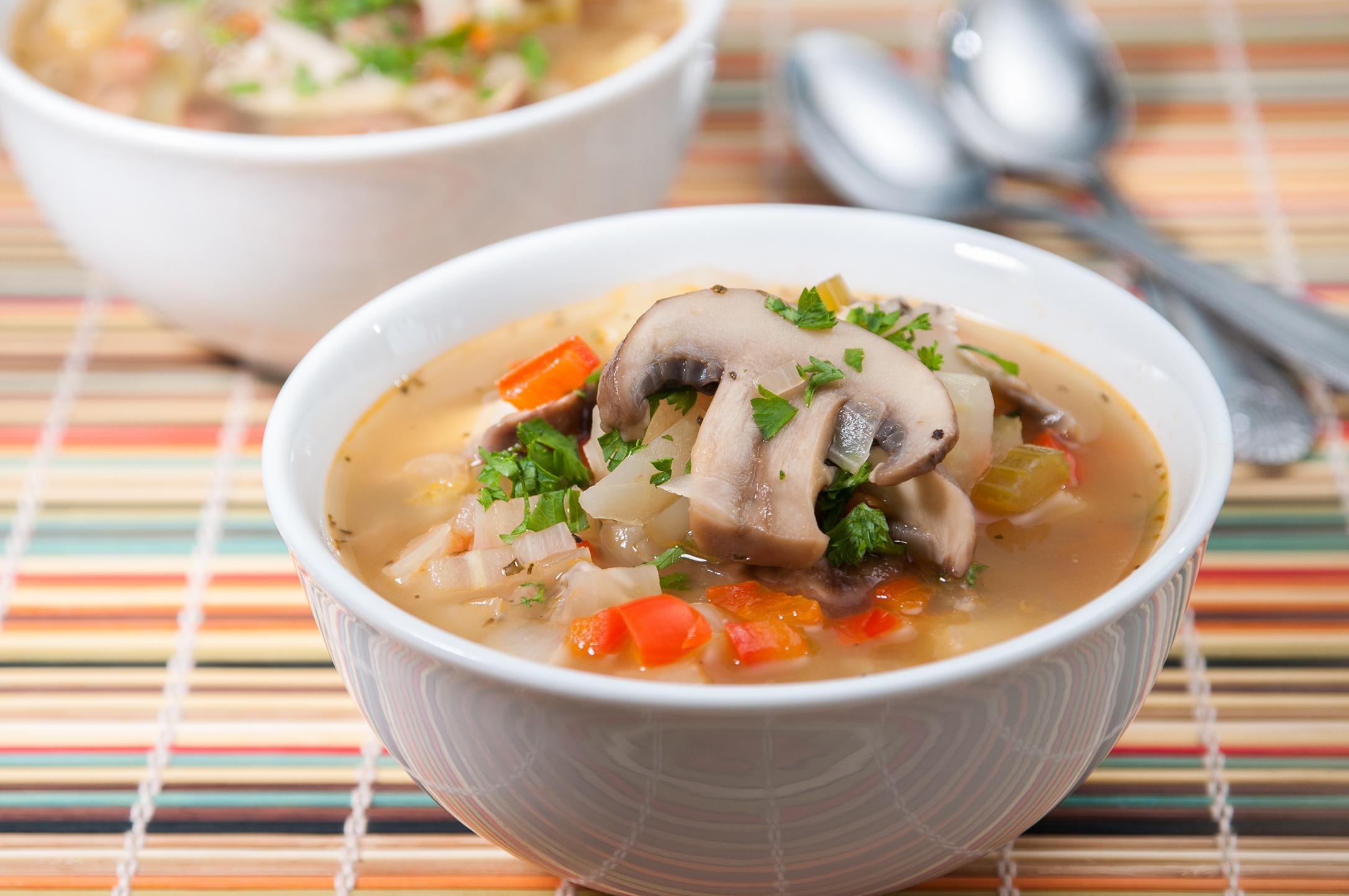 Fennel Mushroom Soup