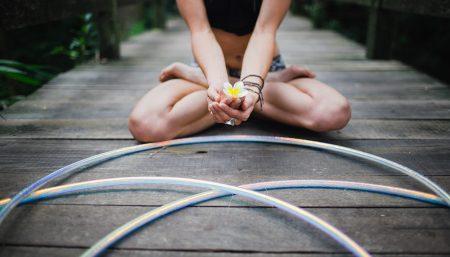 Hoop Yoga