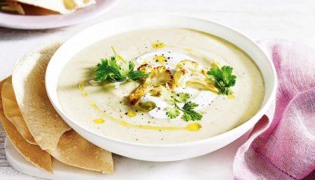 Hot Spiced Stew With Potatoes Aand Cauliflower