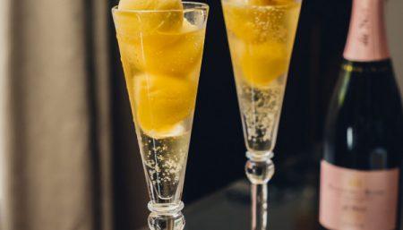 Mango Champagne Sorbet