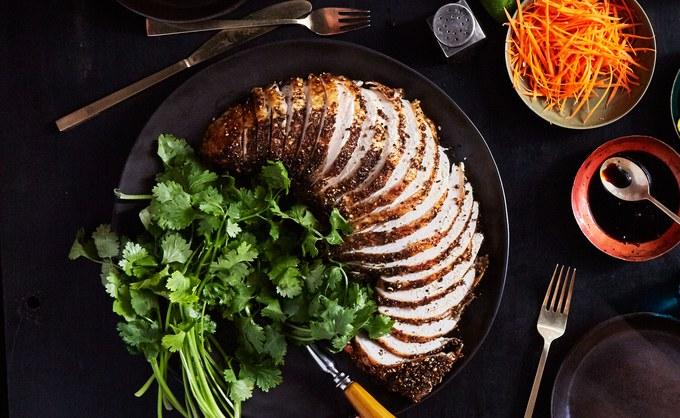 Roasted Turkey Breast Porchetta-Style
