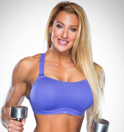Alissa Parker, an IFBB figure pro.