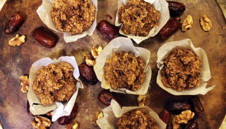 Date Apple Muffins