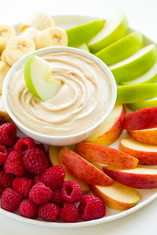 Fruits With Honey Dip