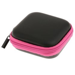 Generic Mini Box Purses Wallet Storage Bag Pouch for Earphone Headset Earbud Coins Keys