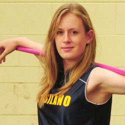 "Javelin Thrower Liz Gleadle's Success Mantra ""Plan, Execute, Achieve!"""