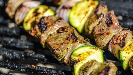 Marinated Lamb Kebabs