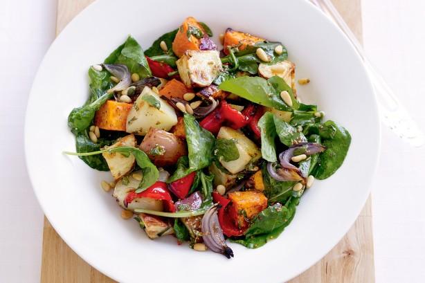 Potato-Mixed Vegetable Salad