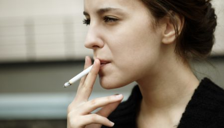 cervical cancer smoking