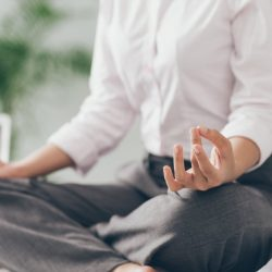 Take A Yoga Break At Your Office Desk