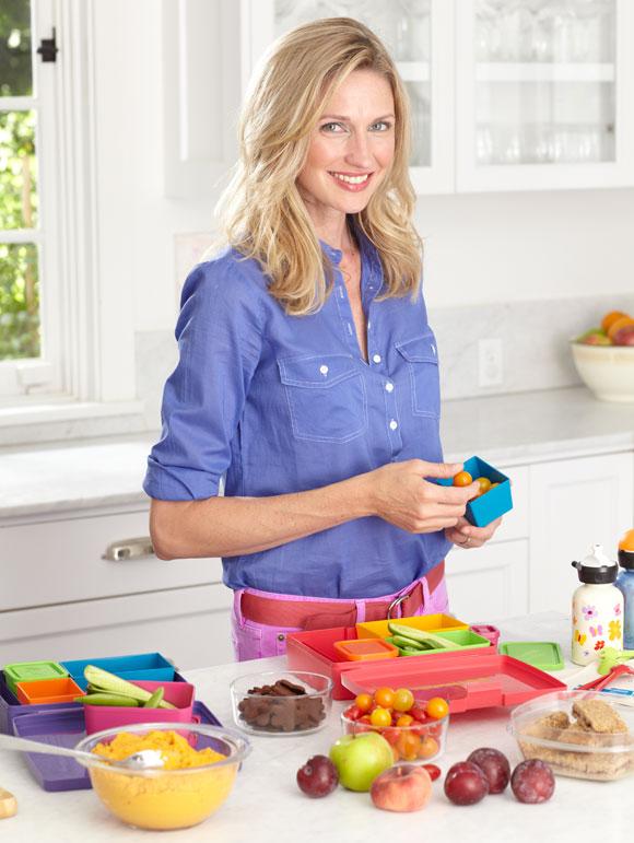 Catherine McCord, television program hostess.