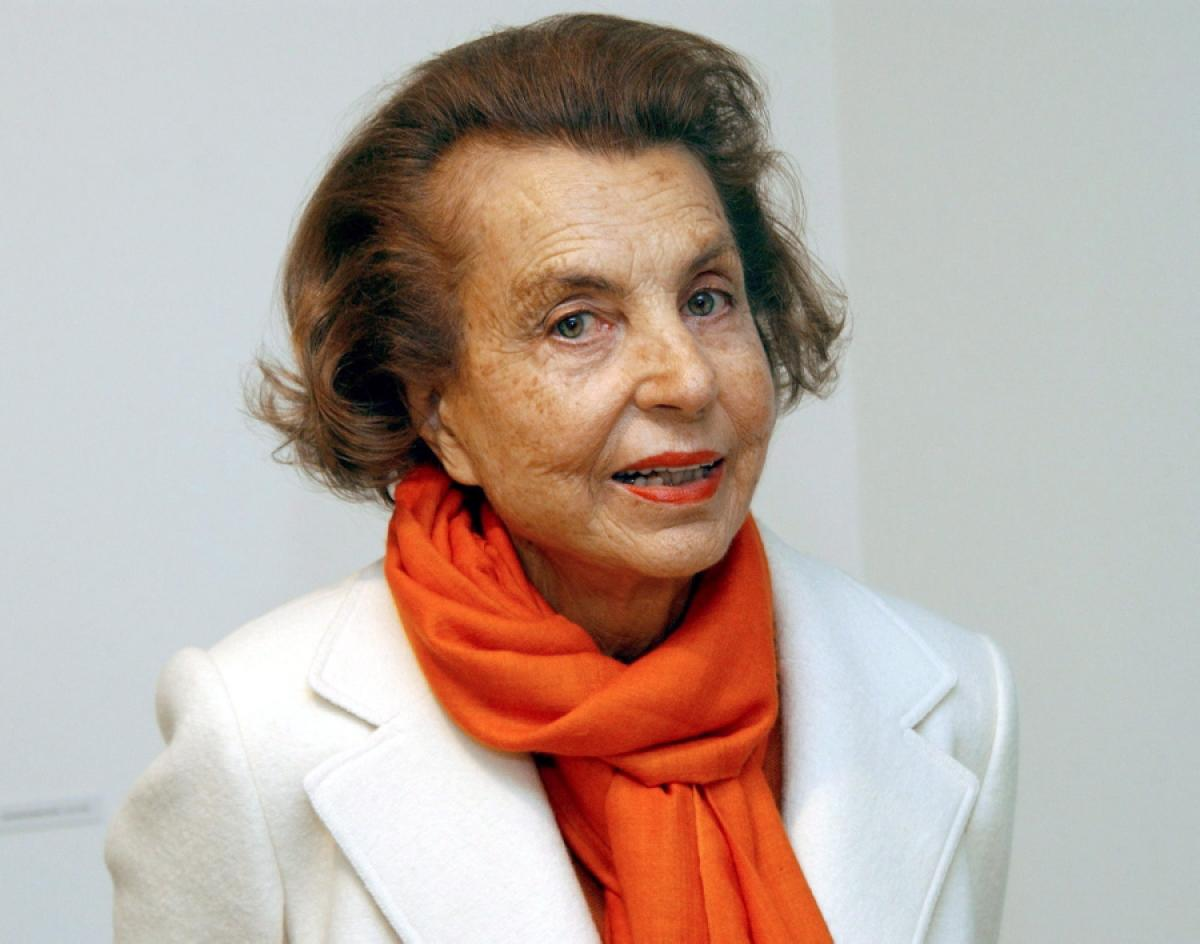 Image result for liliane bettencourt