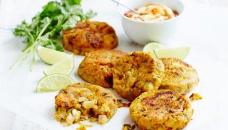 Tuna Corn Fish Cakes