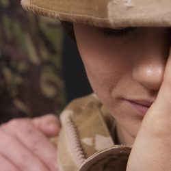 Combat exposure may jeopardize the behavioral health of women in the military