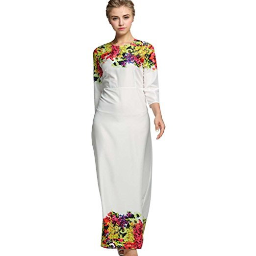 SFY Women Fashion Round Neck High Waist