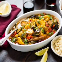 Moroccan Seven Vegetable Tagine