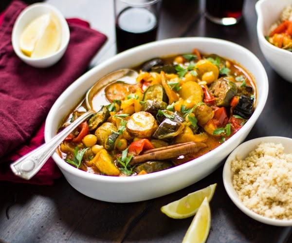 Moroccan Seven Vegetable Tagine