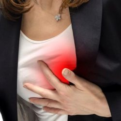 Silent heart attack in women