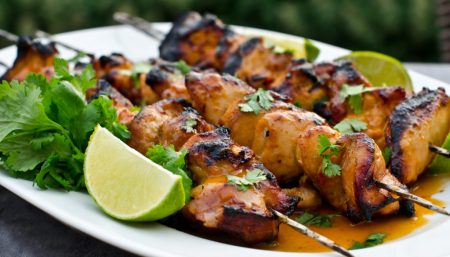 Superbowl Chicken Skewers