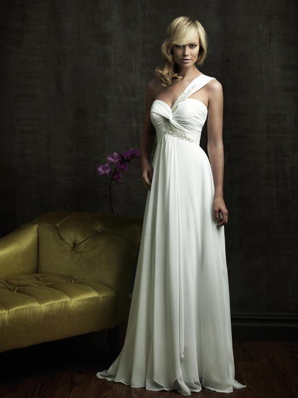 Sweetheart One Shoulder Dress