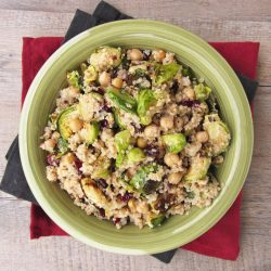 Warm Quinoa and Walnut Salad