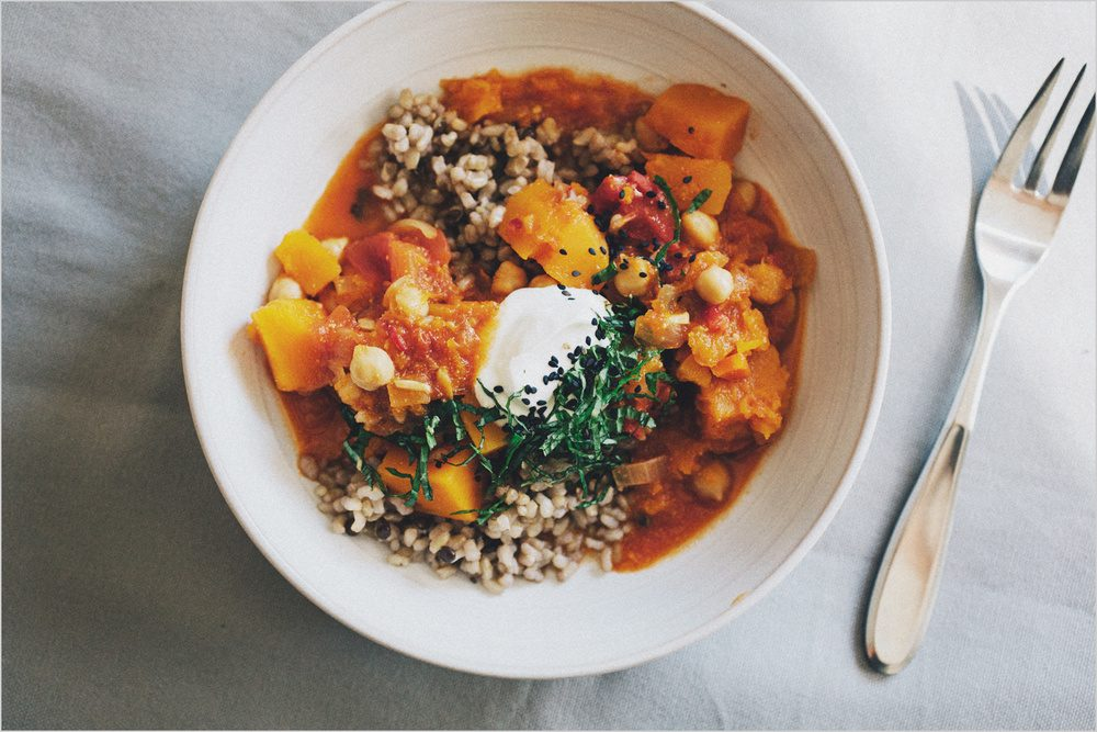 Middle Eastern Vegetable Stew