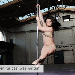 Mona Arbinger: Winner Miss Pole Dance 2013 Secret of Success 'Never Give Up!'