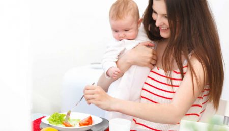 post pregnancy diet tips
