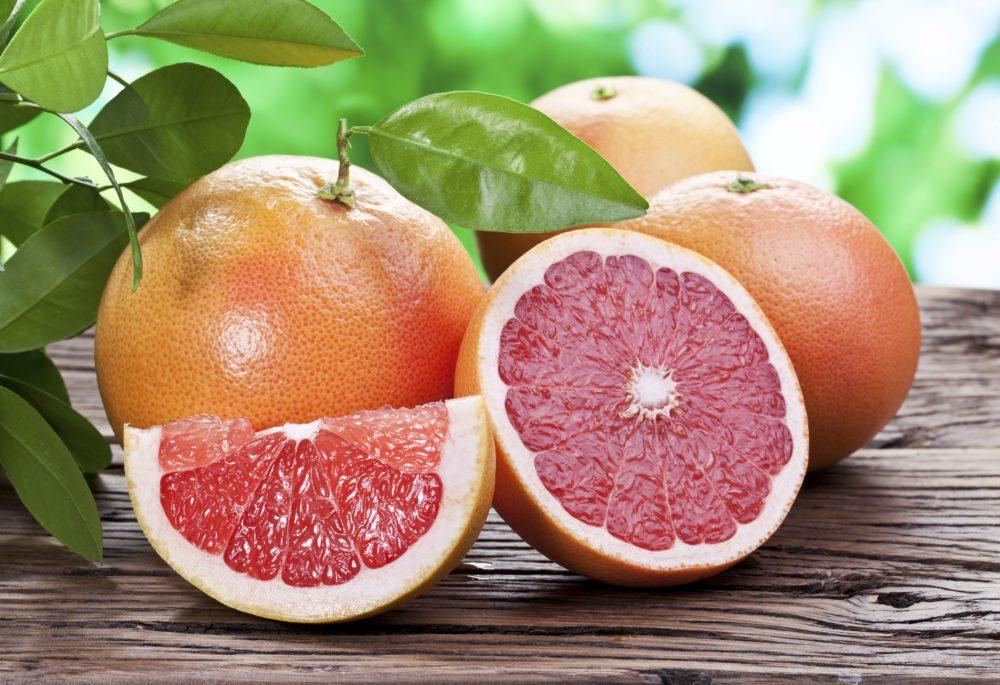 Green Tea, Grapes, Grapefruit