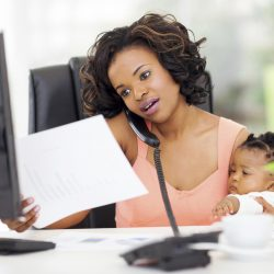 To work or not to work: Moms' well being rests on what she wants