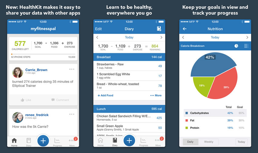 3 Simple Fitness Apps