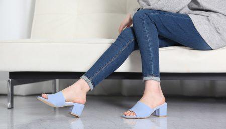 Open-toe Mules