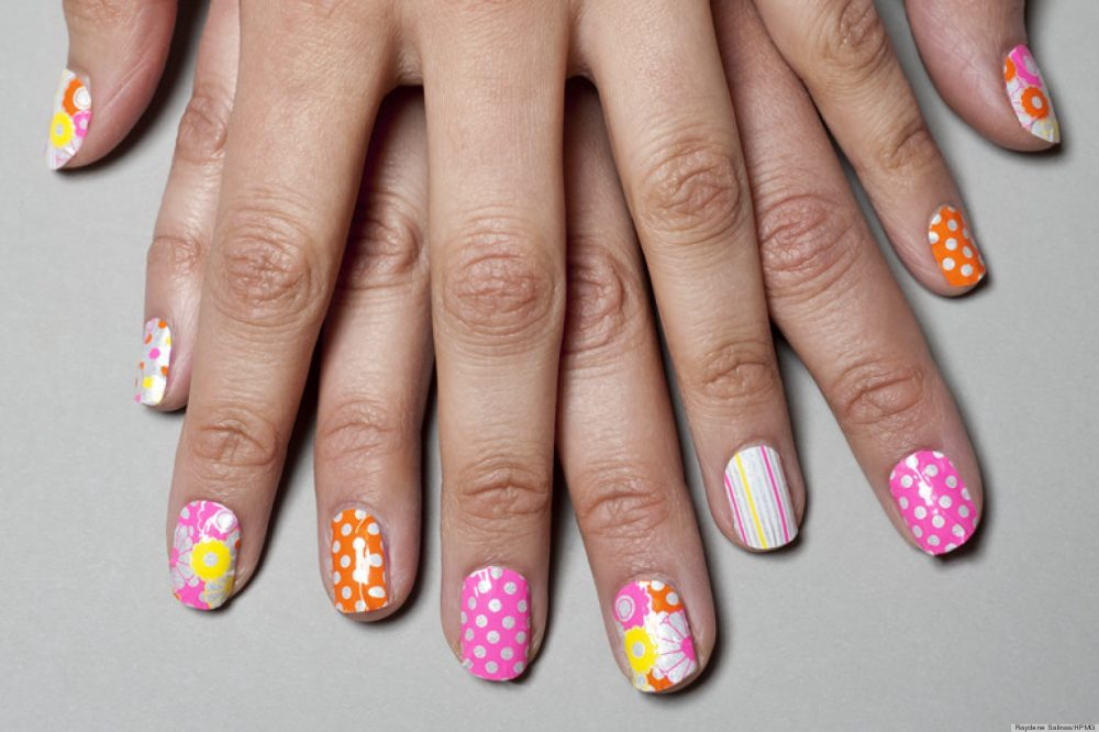 Nail art a craze amongst teenagers women fitness first of all using nail polish remover remove old nail polish and make sure that the nails are properly cleaned prinsesfo Gallery