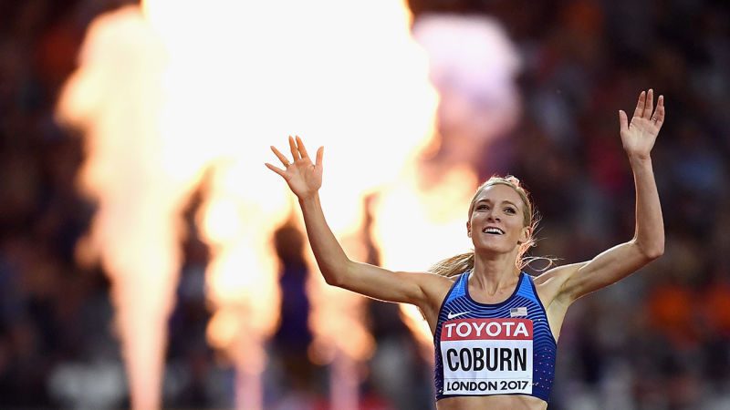 World Champion Emma Coburn