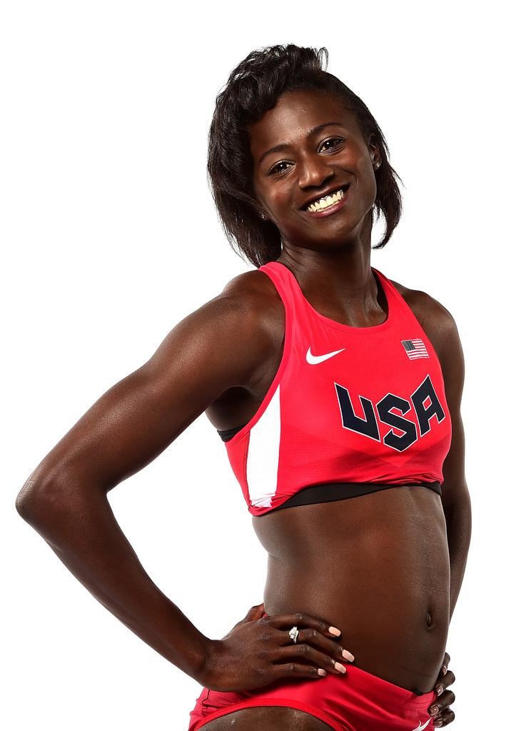 Tori Bowie, Winner of women's 100m final at World Athletics Championships, 2017.