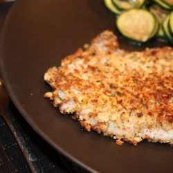 Walnut-Encrusted Tilapia