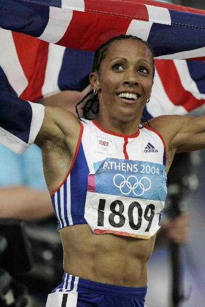 Kelly Holmes (Dame Kelly Holmes), fastest athlete