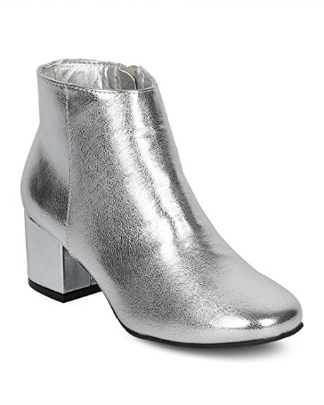 silver footwear