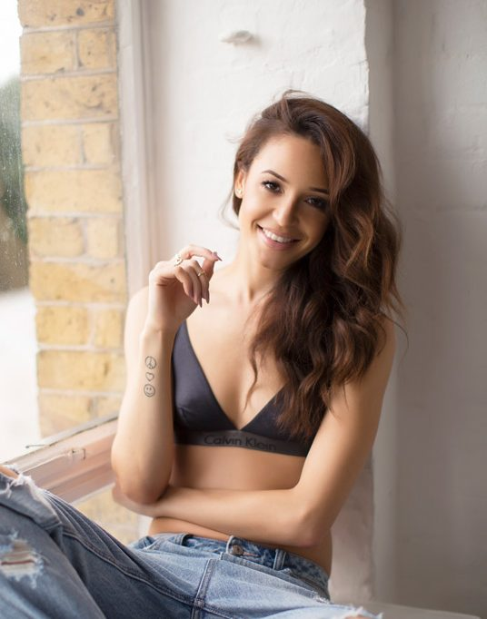 Danielle Peazer, Professional Dancer, Model and Fashion Blogger..