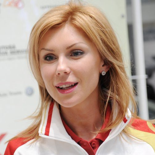 Ineta Radevica, Latvian athlete & bronze medalist in the long jump
