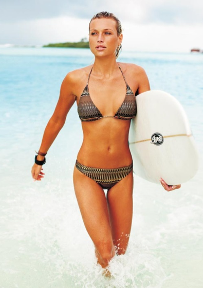 Roxy Louw, South African surfer