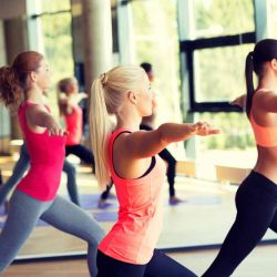 Yoga and aerobic exercise together may improve heart disease risk factors