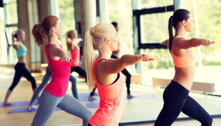 Yoga and aerobic exercise