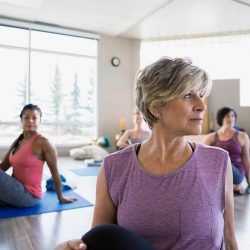 Yoga can be an effective supportive therapy for people with lung cancer and their caregivers
