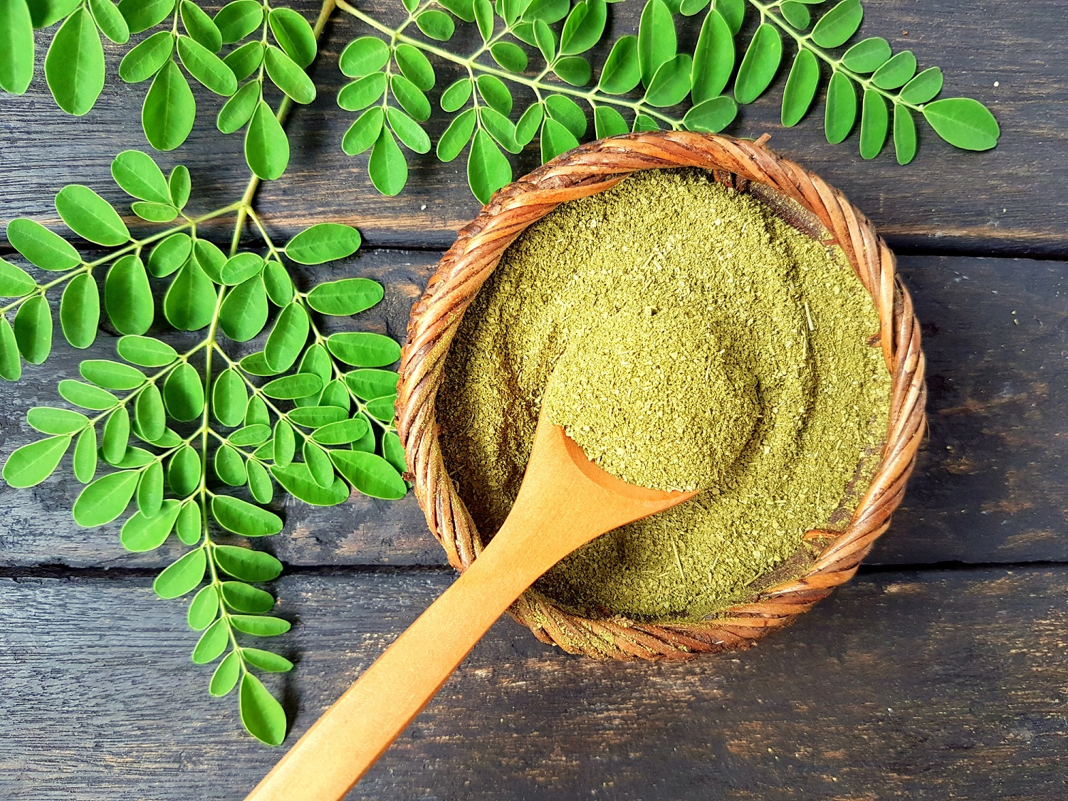 Drinking Moringa With At-home Workouts